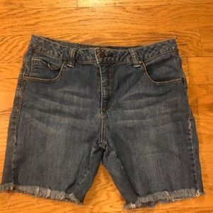 Faded Glory Denim Shorts